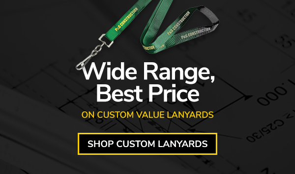 Shop Custom Value Lanyards - ID Warehouse