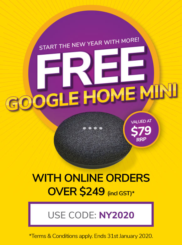 Google Home Mini Promotion - ID Warehouse