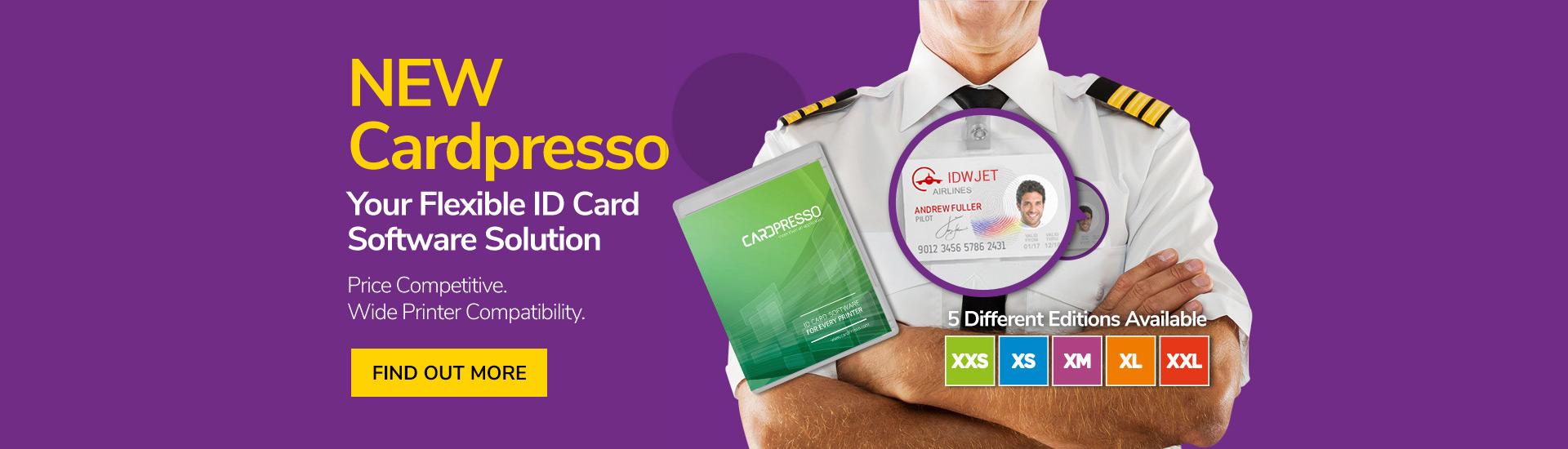 New Cardpresso - Card Printer Design Software Solution