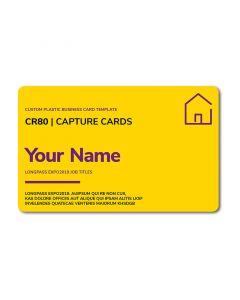 Custom Plastic Business Card