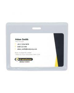 Flexible Card Holder, Landscape, Standard Size, Pack 100