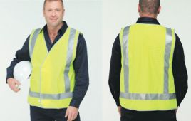 Reflective Safety Vest - Parallel Line