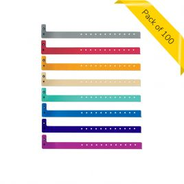 Superband Plastic Wristband - Pack of 100