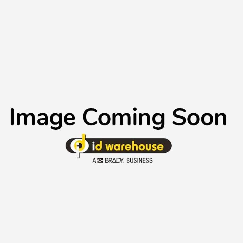 Retractable Carabiner Badge Reel with Split Ring - Pack of 10