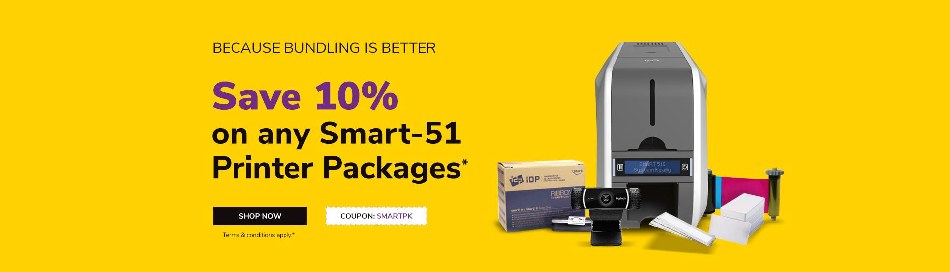 Smart 51 Printer Package
